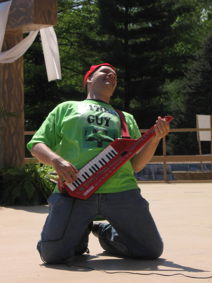 Keytar Superstar Orin Johnson
