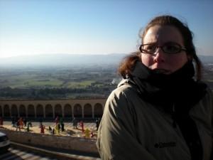 Erin at Assisi