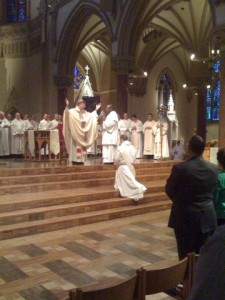 Orin and Erin's AI friend Andy was ordained to the priest=hood yesterday!  Congrats!