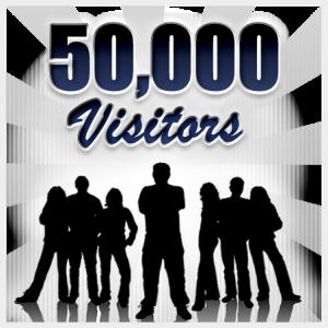 50000visitors